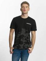 New Era t-shirt Reflective Camo zwart