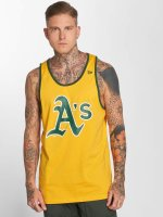 New Era Tank Tops Team Apparel Oakland Athletics keltainen