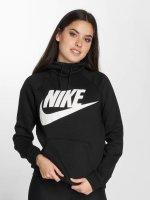 Nike Bluzy z kapturem Sportswear Logo Rally czarny