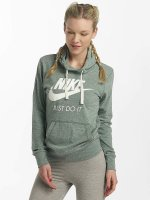 Nike Bluzy z kapturem NSW Gym Vintage zielony