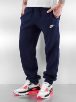 Nike joggingbroek NSW CF FLC Club blauw