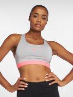 Nike Performance Športová podprsenka Classic Padded šedá