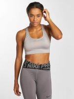 Nike Performance Športová podprsenka Swoosh Sports šedá