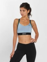 Nike Performance Športová podprsenka Pro Indy Logo Back modrý