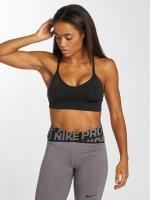 Nike Performance Biustonosz sportowy Seamless Light czarny