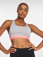 Nike Performance Biustonosz sportowy Classic Padded szary