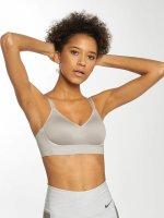 Nike Performance Soutiens-gorge de sport Indy Breathe gris