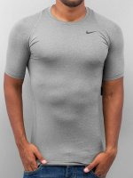 Nike Performance t-shirt Pro Cool Compression grijs