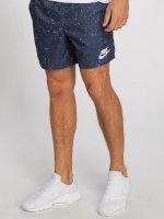Nike Short Flow Aop Woven bleu