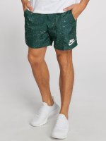 Nike Short Flow Aop Woven green