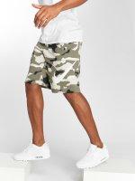Nike Shortsit Sportswear FT Club Camo QS beige