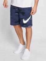 Nike Shortsit Sportswear FT Club Camo QS sininen