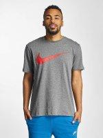 Nike t-shirt Hangtag Swoosh grijs