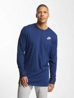 Nike T-Shirt manches longues NSW bleu