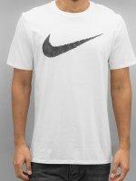 Nike T-Shirt Hangtag Swoosh weiß