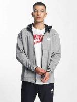 Nike Zip Hoodie Sportswear Advance 15 серый