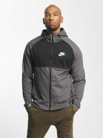 Nike Zip Hoodie Sportswear Advance 15 Fleece grau