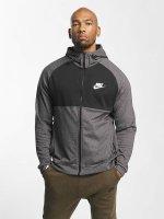 Nike Zip Hoodie Sportswear Advance 15 Fleece gray