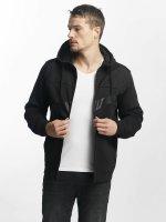 Nike Zip Hoodie NSW Fleece Hybrid schwarz