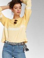 Noisy May Пуловер nmChris Dip Dye желтый