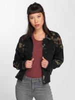Noisy May джинсовая куртка nmCho Print черный