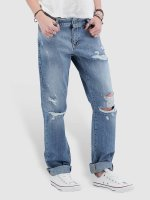 Noisy May Boyfriend Jeans nmScarlet Normal Waist Regular blue