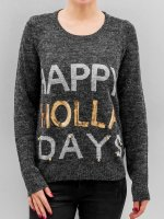 Noisy May Pullover NMBElly grau