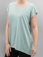 Noisy May T-Shirt Mathilde Loose Long blue