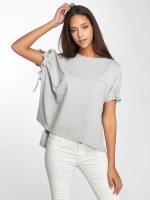 Noisy May T-Shirt Sara grau