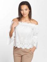 Noisy May T-Shirt manches longues nmFemi blanc