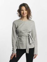 Noisy May T-Shirt manches longues Verone gris