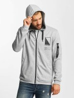 Only & Sons Hoodies con zip onsCadby grigio