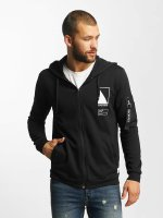 Only & Sons Hoodies con zip onsCadby nero