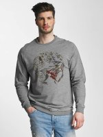 Only & Sons Pullover onsSanto grau