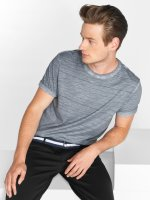 Only & Sons T-Shirt onlsNelson Striped blau
