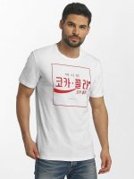 Only & Sons t-shirt onsCoca Cola wit