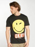 Only & Sons t-shirt onsSmiley zwart