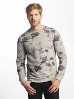 Only & Sons trui onsTim Flower Print grijs