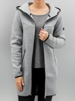 Only Cappotto onlLilo Long Hood grigio