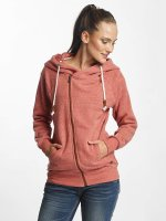 Only Hoodies con zip onlLove rosso