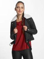 Only leren jas onlDanielle Faux Leather Biker zwart