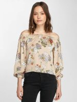 Only Longsleeves onlEva Cold Shoulder bezowy