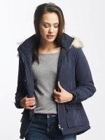 Only Manteau hiver onlStarlight Fur Parka bleu