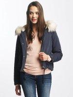 Only Manteau hiver onlSkylar Fur Parka bleu
