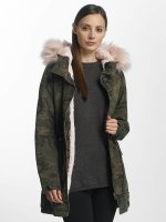 Only Manteau hiver onlStella camouflage