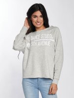 Only Pullover onlSophia Batwing Unbrushed grau