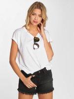 Only T-Shirt onlGemma Keyhole blanc