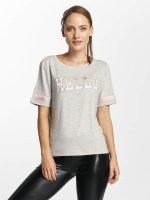 Only t-shirt onlMia Hello grijs