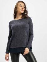 Only T-Shirt manches longues onlRea bleu