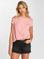 Only T-Shirty onlGemma Knot rózowy